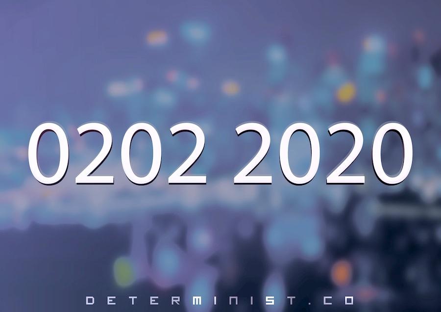 02.02.2020 – Gregorian Calendar Occurrence